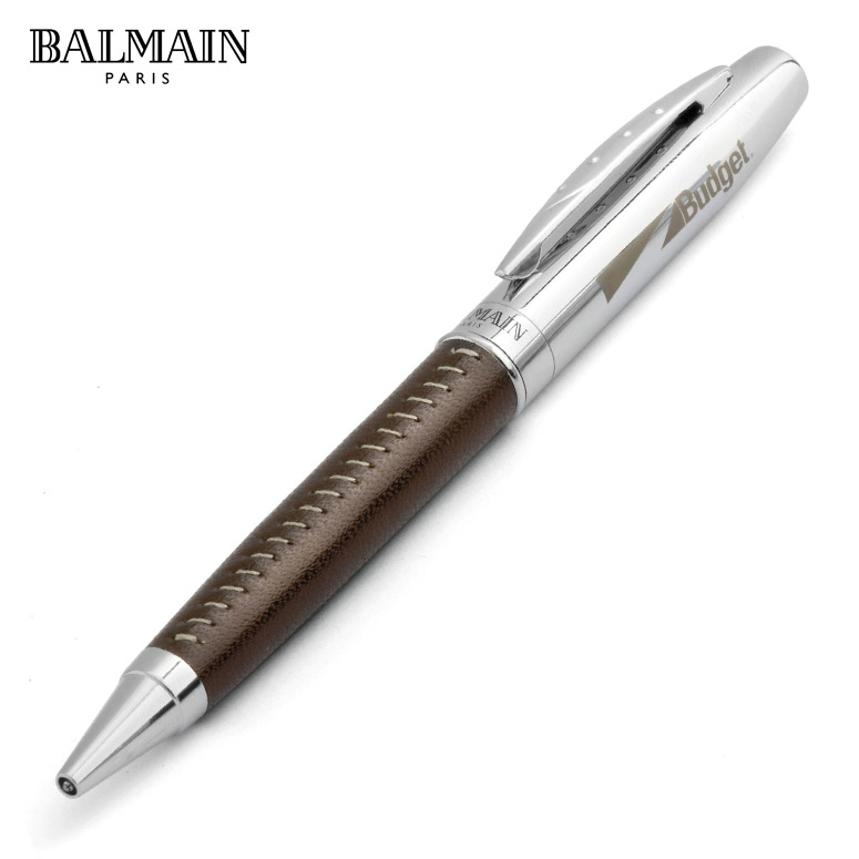 balmain supreme ball pen brown