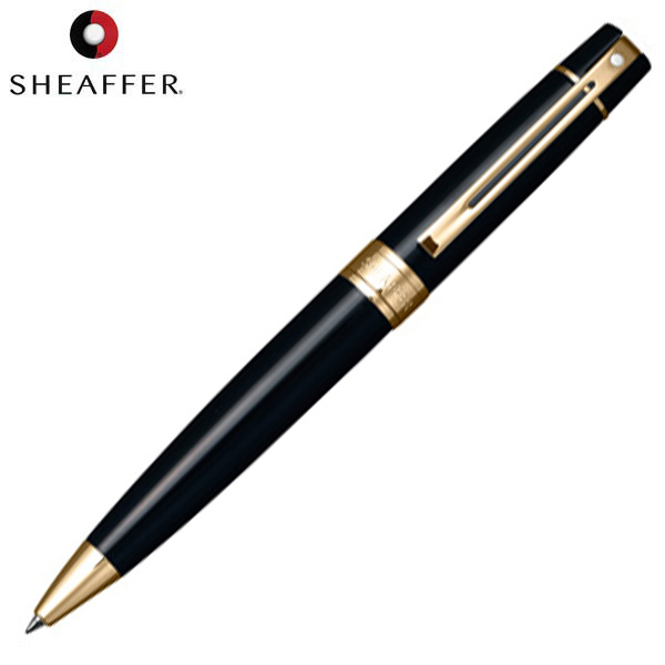 sheaffer 300 glossy black ballpoint