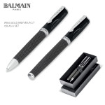 Lattice ball pen and roller ball set